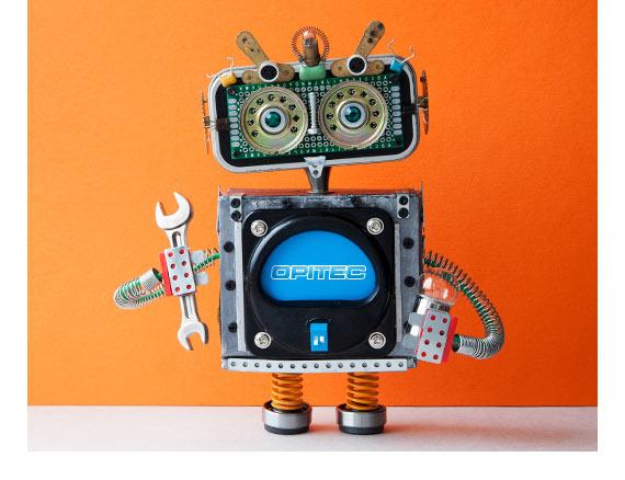 Robot Opitec per codici promo e sconti